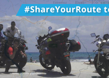 #ShareYourRoute on Motortourer This Summer and WIN!